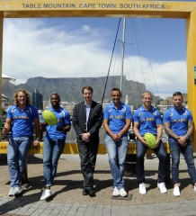 CAPE TOWN, SOUTH AFRICA - NOVEMBER 04:  during the Springbok Sevens photo at The Waterfront on November 04, 2015 in Cape Town, South Africa. (Photo by Ashley Vlotman/Gallo Images)