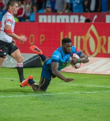 20150912, LOFTUS VERSVELD, PRETORIA: Jamba Ulengo, of the Blue Bulls in action during ABSA CURRIE CUP match between BLUE BULLS vs GOLDEN LIONS, Saturday 12 September 2015. Loftus Versveld, Pretoria, Gauteng.   Photo by: Anton Geyser/ Rugby 15/ SASPA