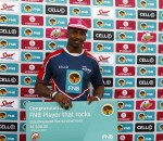 Ntsila Andisa of Madibaz player that rocks during the 2016 FNB Varsity Cup Rugby presented by Steinhoff International, Monday 15 February 2016. FNB NMMU MADIBAS vs FNB MATIES, NMMU Sports ground, Port Elizabeth, Eastern Cape  Photo by: Michael Sheehan/SASPA