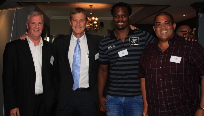 Derek Kimber, Elwyn van den Aardweg, Tera Mthembu and Etienne Fynn