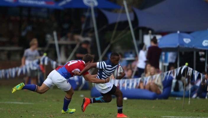 SACS' Zolani Masembathe breaks from Framesby