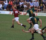 Rugby - Kearsney try scorer Cam Ritchie in the game against Glenwood