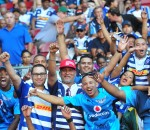Stormers and Bulls fans during the 2016 Super Rugby game between the Stormers and the Bulls at Newlands Stadium, Cape Town on 27 February 2016 ©Ryan Wilkisky/BackpagePix