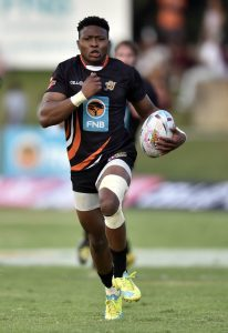 2016 FNB Varsity Cup Rugby SEMI FINAL 1 presented by Steinhoff International, Monday 04 April 2016,UJ Stadium, Johannesburg Gauteng. Aphiwe Dyantyl from UJ Photo by: Catherine Kotze/SASPA
