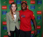 Elma Smit with Wandisile Simelane
