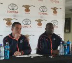 Franco Smith and Oupa Mohoje Toyota Cheetahs