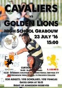 POSTER Boland vs Golden Lions CCQ 2016 - Copy