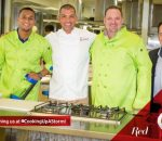 Team Red Advantage - Winning Team (Leolin Zas, Reuben Riffel, Mark Theron and host Ian Bredenkamp)