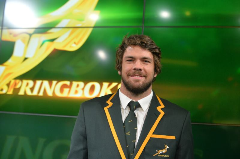JOHANNESBURG, SOUTH AFRICA - MAY 23:  Captain  Warren Whiteley during the Springbok team announcement at SuperSport Studios on May 23, 2017 in Johannesburg, South Africa. (Photo by Lefty Shivambu/Gallo Images)