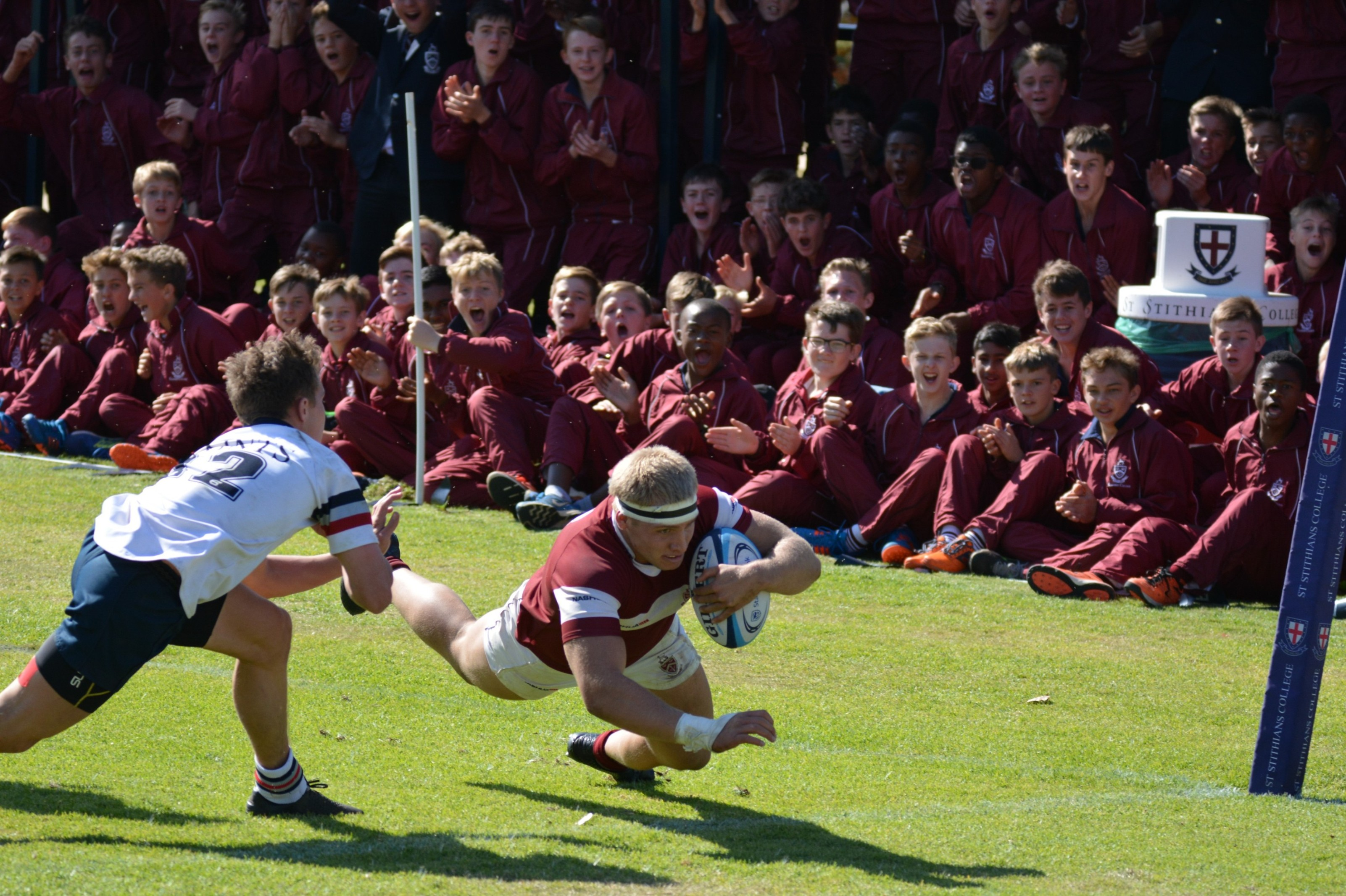 Rugby ' Kearsney's Dylan Richardson in the win against St Stithians