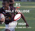 Dale College 1st XV vs Grey High 1st XV, 10 June 2017