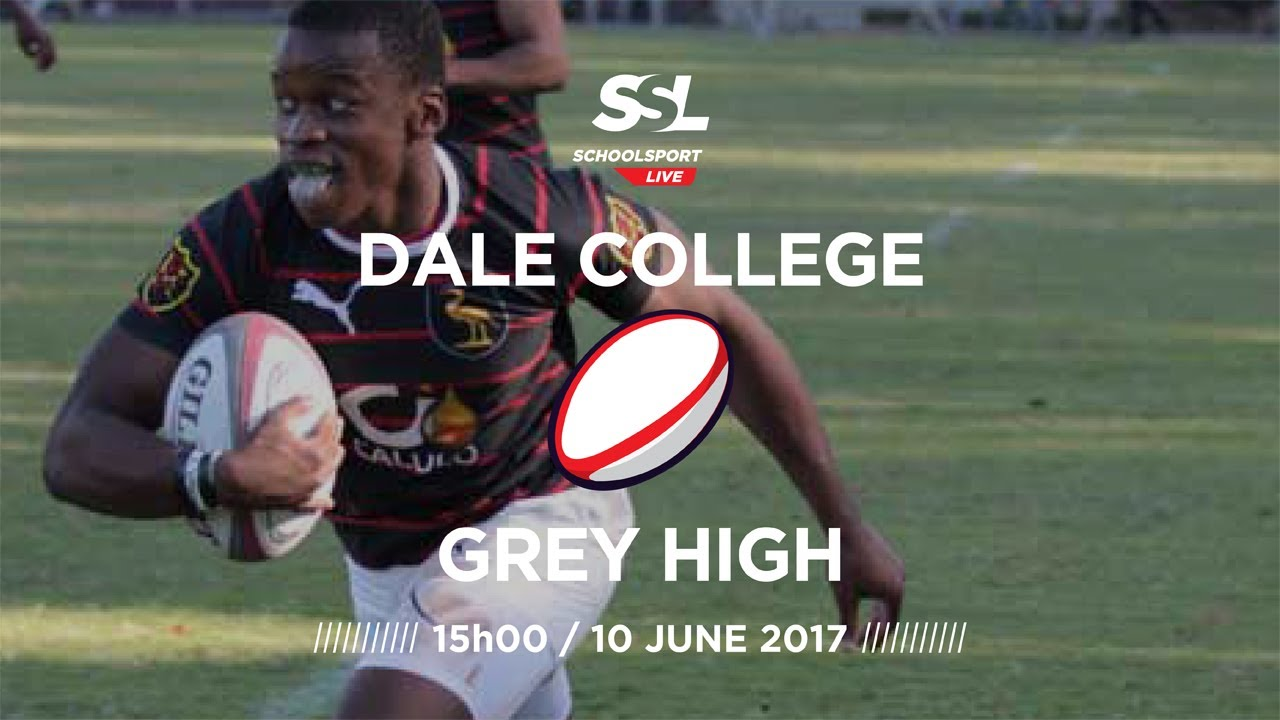 Dale College 1st XV vs Grey High 1st XV, 10 June 2017