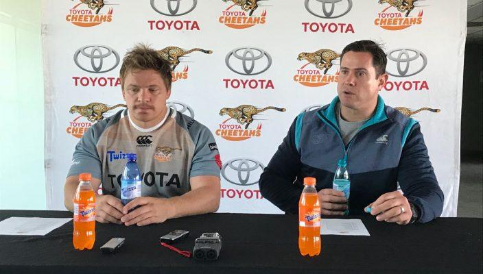 Cheetahs Captain and Coach