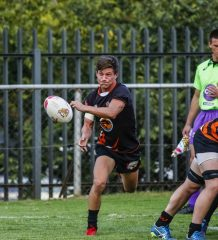 Alan Thain of UJ during the FNB Varsity Cup rugby match between UJ and Wits at Wits Rugby Stadium in Johannesburg on the 12th March 2018. Photo by Dominic Barnardt/VarsitySports