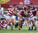 Kearsney's Sbu Sangweni in the win against Michaelhouse.