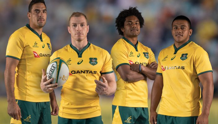 A Nod To Heritage In Qantas Wallabies 2018 Jersey 15 Co Za Rugby News Live Scores Results Fixtures
