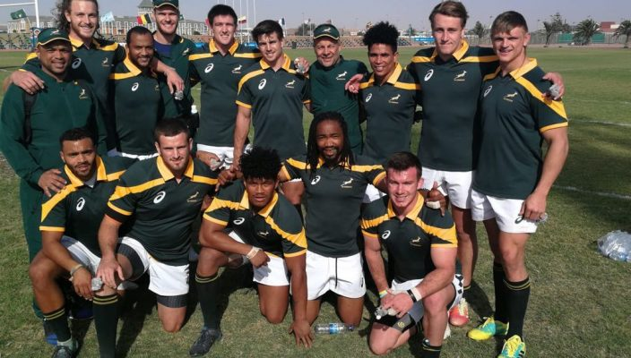 180716 SA Students Sevens Men's team