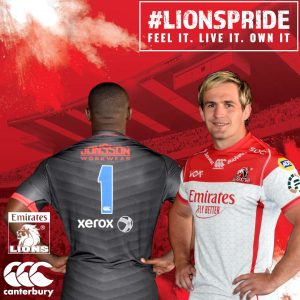 Emirates Lions Jersey 1